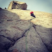Rock Climbing Photo: Coffin Crack, Rob Duncan