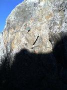 Rock Climbing Photo: Steve Martin wandering up Local Yokel .8