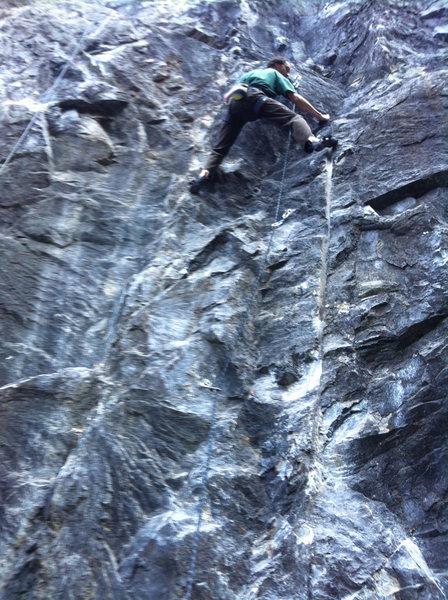 Mr. Mike Manis on an early send of Release the Lions .11c, Twin Towers.