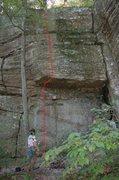 Rock Climbing Photo: 5.11a