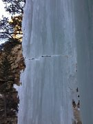 Rock Climbing Photo: Fracturing on CCC Falls