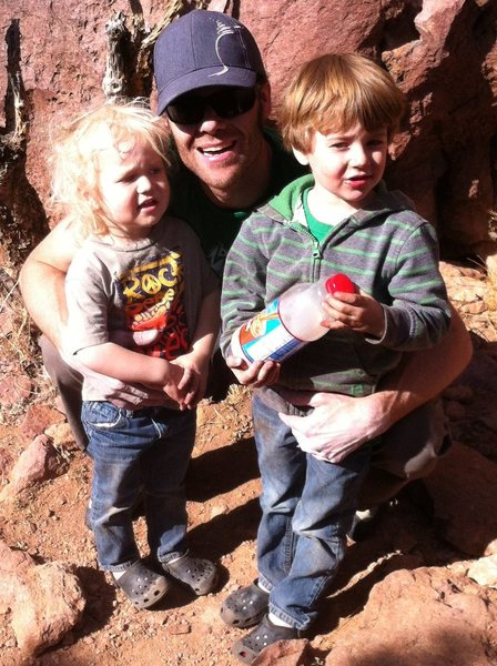 Rock Climbing Photo: Me and the boys