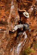 Rock Climbing Photo: Yak Crack, Red Rocks.