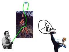 Rock Climbing Photo: Chuck Norris