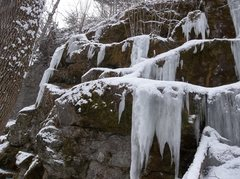 Rock Climbing Photo: Neighborhood ice.