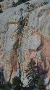Rock Climbing Photo: The Great Corner, 5.9.