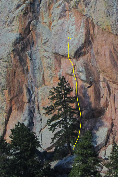 Rock Climbing Photo: Doom Corner, 12b.