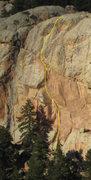 Rock Climbing Photo: Big, Bad Book, 11b.