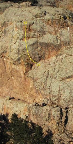 Rock Climbing Photo: Edge of Time, 11c.