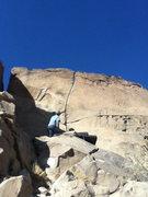 Rock Climbing Photo: Nice looking crack.