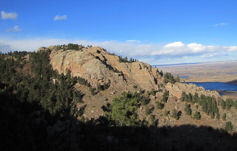 Arthur's Rock, Lory State Park.