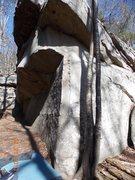 Rock Climbing Photo: Annoying if you're short.