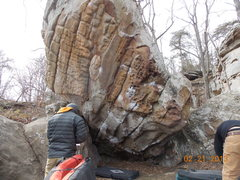 Rock Climbing Photo: A look at the Super Mario Boulder