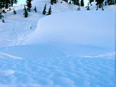 Rock Climbing Photo: Cool Snow