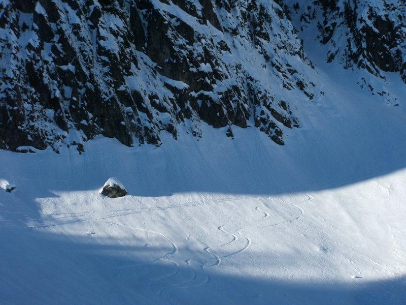 Skiers got their fix too.