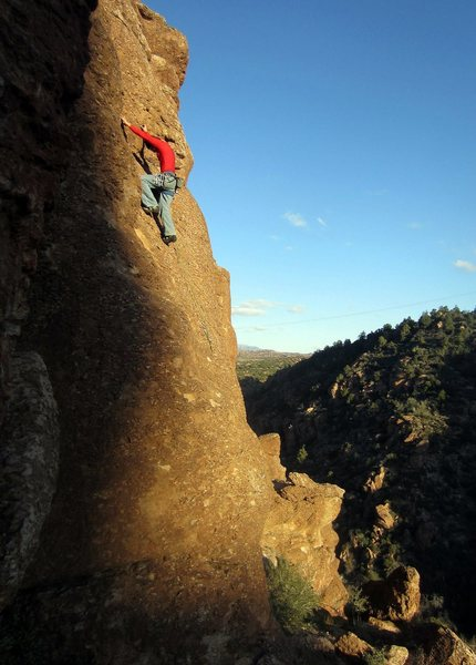 Rock Climbing Photo: I think this is God Save the Ta Tas.  Maybe someon...