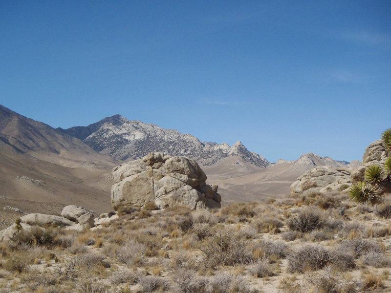 Owen's Ridge from Heller Rocks.