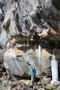 Rock Climbing Photo: Matt zane starts up urban... it was interesting ha...