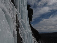 Rock Climbing Photo: long sustained column, photo taken from Twenty Bel...