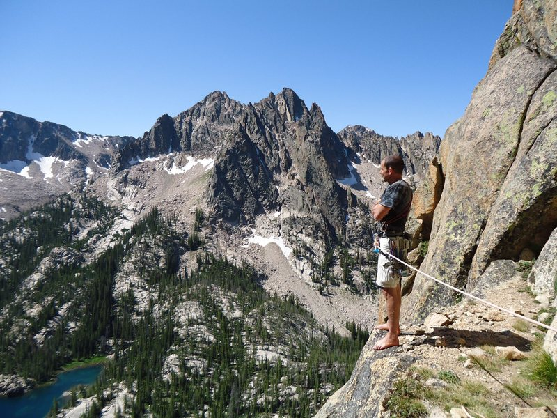 Rock Climbing Photo: Struggling to comprehend the view. The beauty of t...