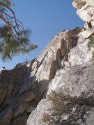 Rock Climbing Photo: Weston L leading OULD