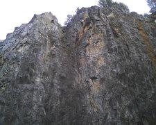Rock Climbing Photo: Twin Towers (upper quarry) 250 feet tall. Enduranc...