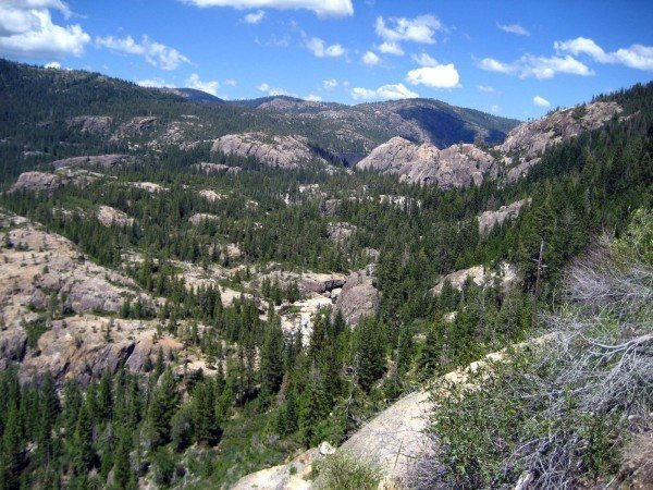 Bowman Valley from Windy Point.