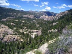 Rock Climbing Photo: Bowman Valley from Windy Point.