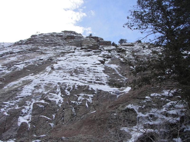 Rock Climbing Photo: Just a dribble.