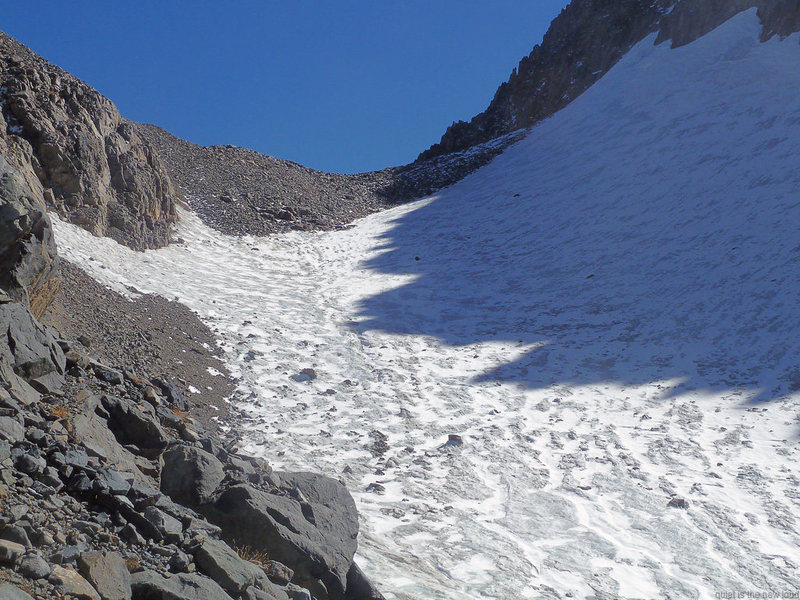 Rock Climbing Photo: Glacier from Lake Catherine to Ritter/Banner saddl...
