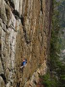 Rock Climbing Photo: Babylon's right wall