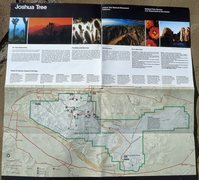 Rock Climbing Photo: Visitor Guide (1992), Joshua Tree National Monumen...