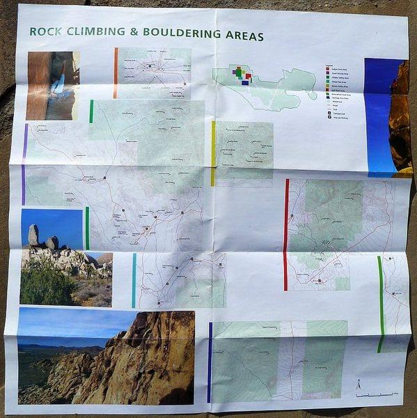 Rock Climbing & Bouldering Pamphlet, Joshua Tree NP