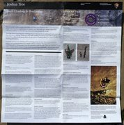 Rock Climbing Photo: Rock Climbing & Bouldering Pamphlet, Joshua Tree N...