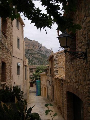 The village of Morera de Monsant