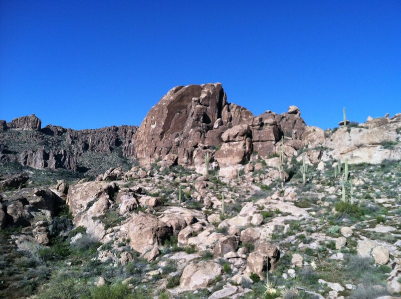 View from the Cave trail