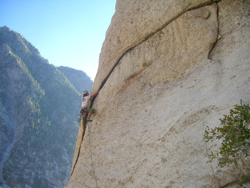 Rock Climbing Photo: I climbed this variation to the 3rd pitch back in ...