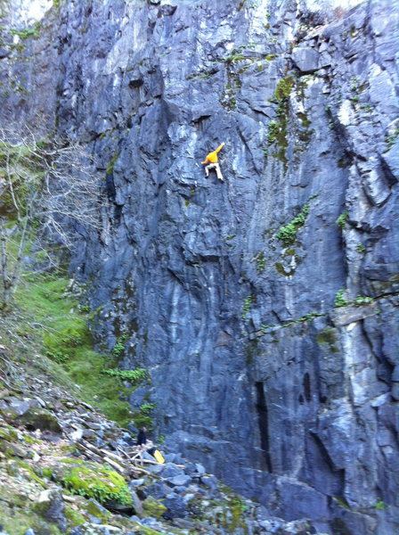 Josh Horniak on the quarry classic, Human Oddity .12-