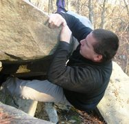 Rock Climbing Photo: Mantel Project.