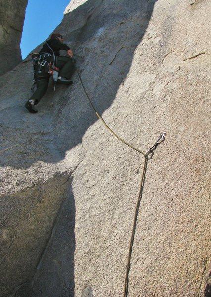 Rock Climbing Photo: Jon cruising up!