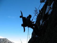 Rock Climbing Photo: Coin slot couloir