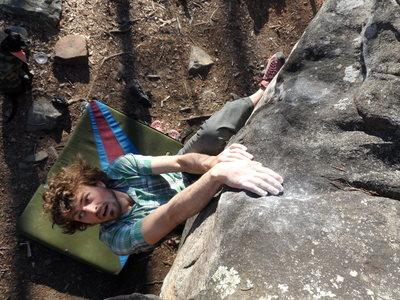 Climbing In Rocktown Rocktown