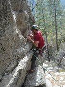Rock Climbing Photo: The right bolt start.