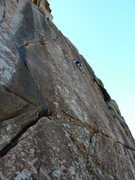 Rock Climbing Photo: Dr. Coolhead 5.10d
