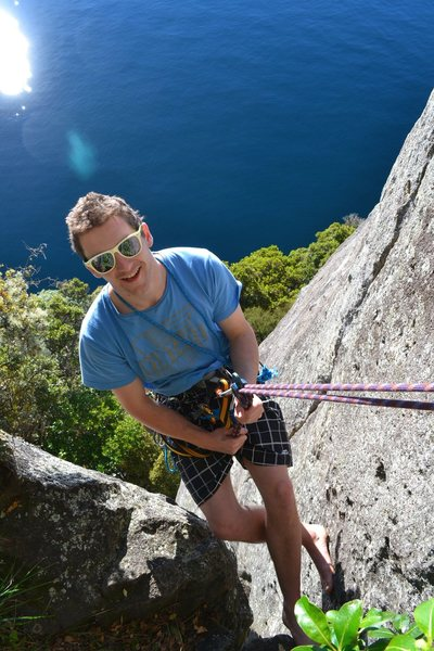 Rock Climbing Photo: Sayonara, Whanganui Bay