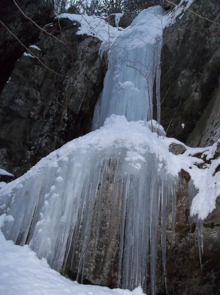 The beautiful fat ice.