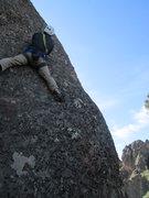 Rock Climbing Photo: after 1st bolt
