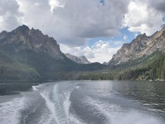Rock Climbing Photo: From the boat ride across the lake
