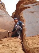 Rock Climbing Photo: Takes lots of gear