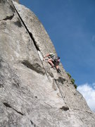 Rock Climbing Photo: Skully on the Ryecrisp
